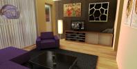 Návrh interiéru bytu - Bergen op Zoom, Holandsko