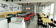 Cafe Racers - fast food restaurant