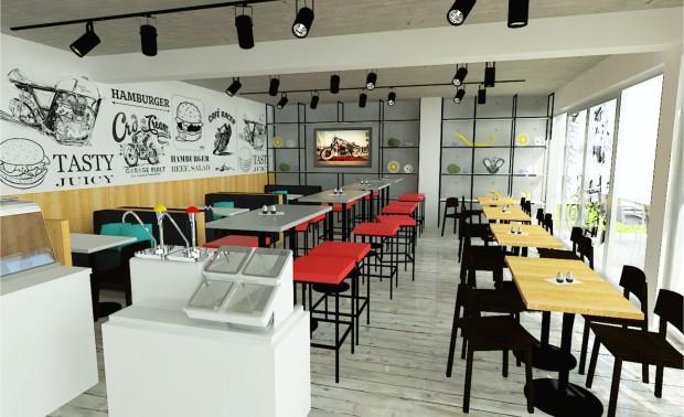 Cafe Racers – fast food restaurant