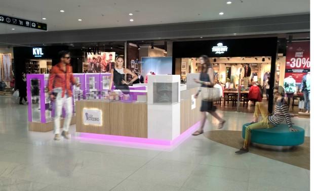 Stánok Vaše Striebro, Bory Mall