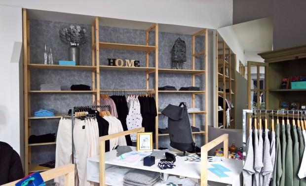 ZinZin Concepte Store - policová stena