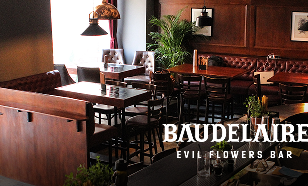 BAR BAUDELAIRE – Evil Flowers Bar